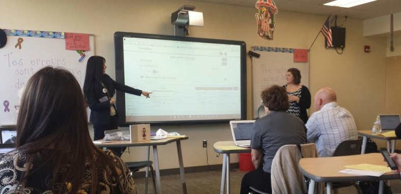 The dynamic teacher-student duo showing educators how to act on live responses!